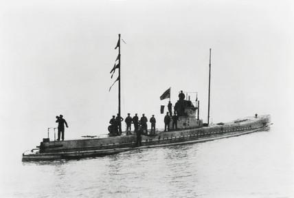 German submarine 'U36', 1914.