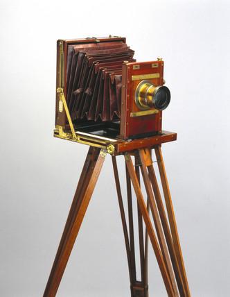 Whole plate camera, 1880.