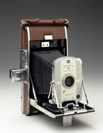 Polaroid land camera, model 95, 1948-1953.
