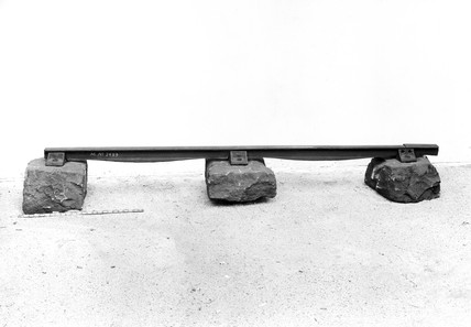 Fish-belly rail, 1825.