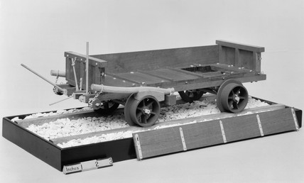 Truck used by Ralph Allen at quarries near Bath, c 1730.