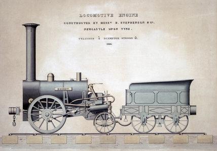 Stephenson's 'Rocket', 1831.