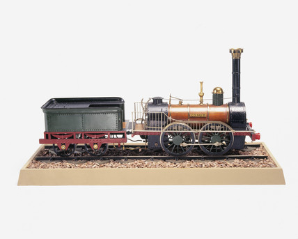 'Comet' Locomotive, 1835. Model (scale 1:16