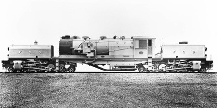 Garratt articiulated locomotive for Chile N