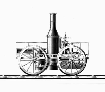Burtall's 'Perseverance' locomotive, 1829.