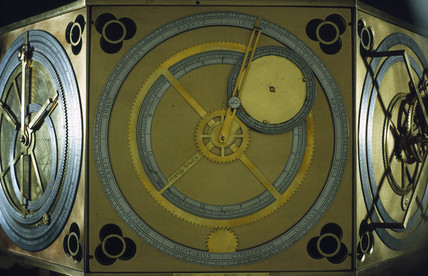 De Dondi's 'Astrarium', the world's first astronomical clock, 1364.