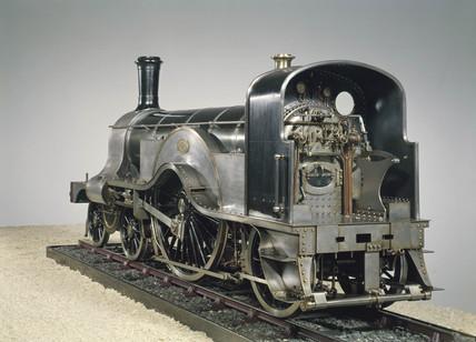 Expres pasenger locomotive, 1887.