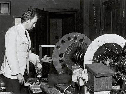 John Logie Baird, Scottish television pioneer, 1926.