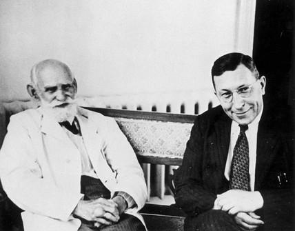 Frederick Banting (1891-1941) and Ivan Petr