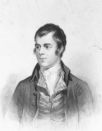 Robert Burns, Scottish poet, c 1885.