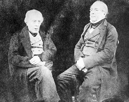 The sons of Robert Burns, c 1860.