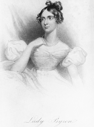 Ada King, Countess of Lovelace, c 1840s.