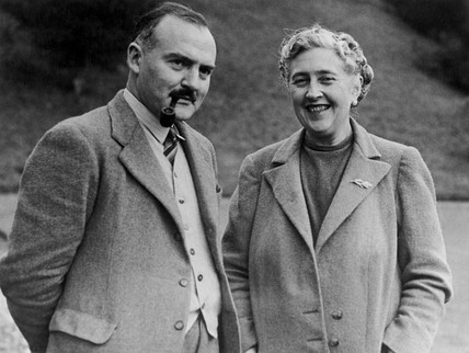 Agatha Christie (1890-1976), English crime writer, 9 March 1946.