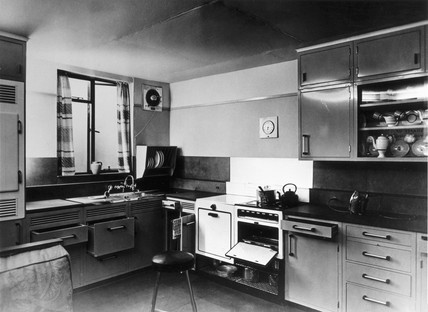 An Ortyx gas kitchen, 28 July 1945. Shown a