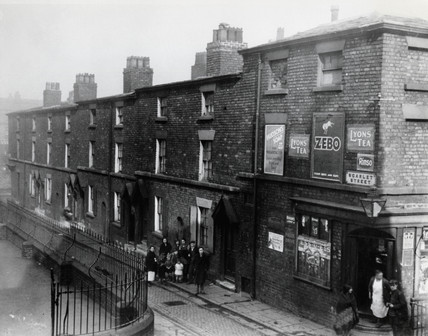 Slum property in Liverpool, Merseyside, 2 March 1933.