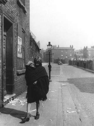 'One of Liverpool's little mothers', c 1937