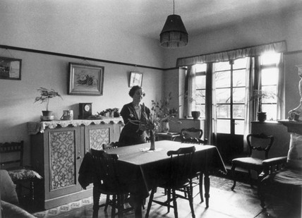 Interior of a modern flat, c 1930s. Photogr