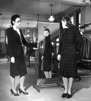 WW2 utility clothing for women, c 1942.