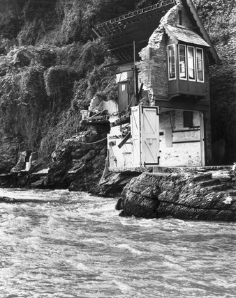 Lynmouth flood disaster, 17 August 1952.