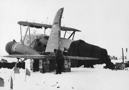 Antarctic expedition of Admiral Richard Byrd, 27 April 1940.