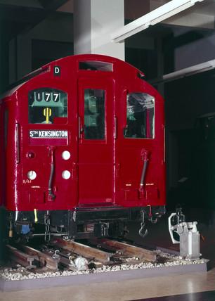 London Transport Tube Car No 3327, 1927.