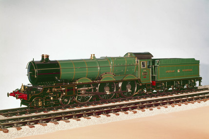 'King George V' locomotive, 1927. The Great