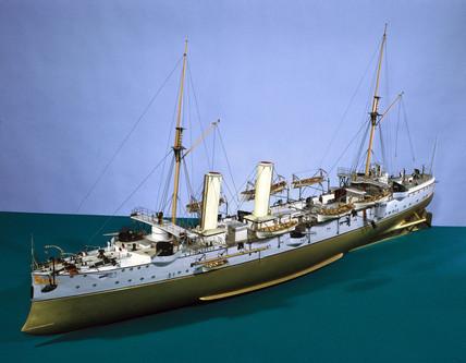 HMS 'Magicienne', 1888.
