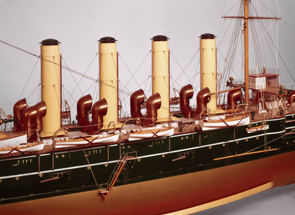 HMS 'Diadem', 1896.