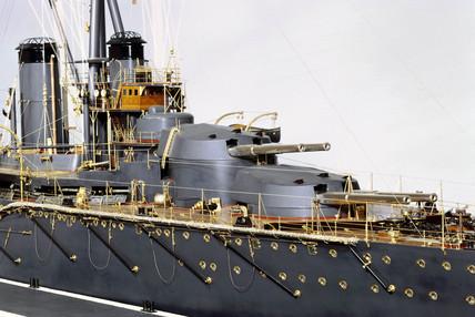 HMS 'Monarch', 1911.