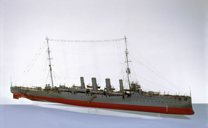 HMS 'Glasgow', 1909.