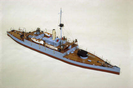 HMS 'Humber', 1914.