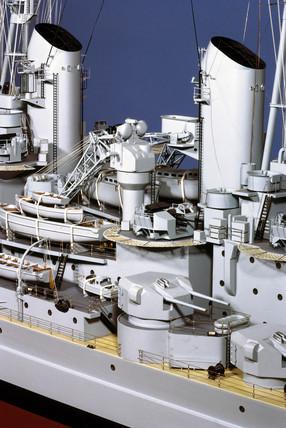 HMS 'Vanguard', 1944.