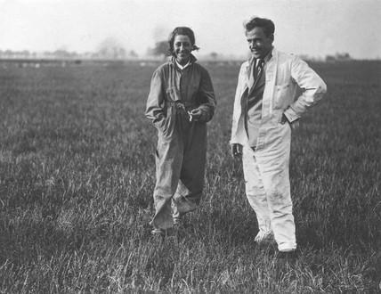 Amy Johnson, British aviator, 31 May 1933.