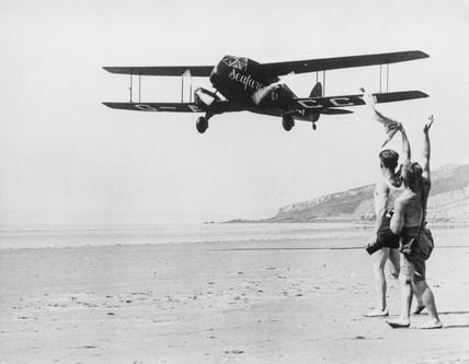 Amy Johnson and Jim Mollison, 1933.