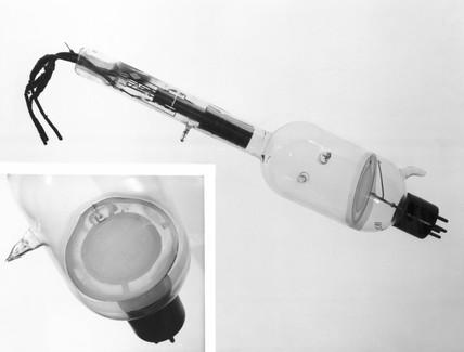 Emitron television camera tube, 1932.