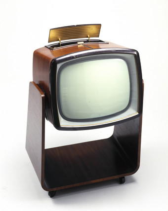Murphy Television Receiver On Castered Trolley Model