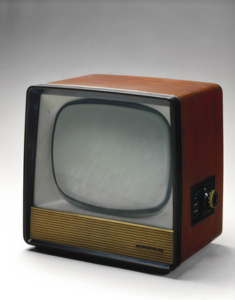 Ekco television receiver, type T345, 1958.