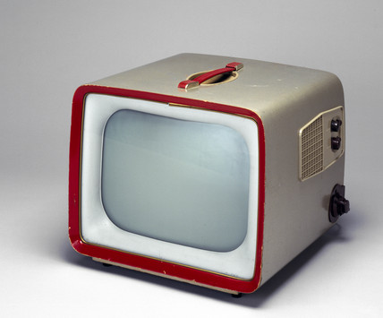 Sobell portable television, model TPS 147, 1955.