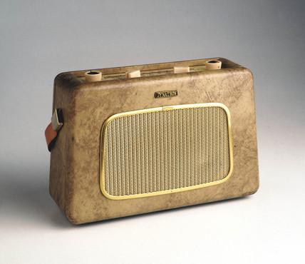 Dynatron TP11 'Nomad' radio, c 1960.
