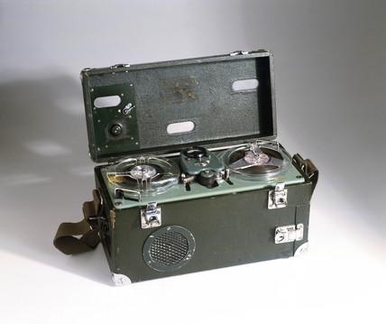 EMI tape recorder, c 1950.