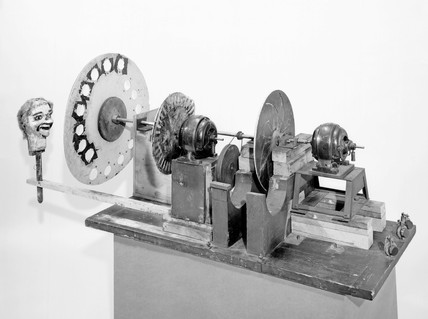 Logie Baird's television apparatus, 1926. J