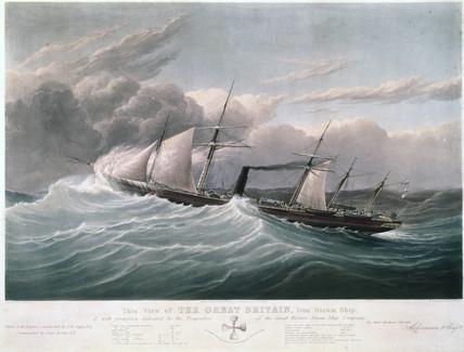s 'Great Britain', 1843.