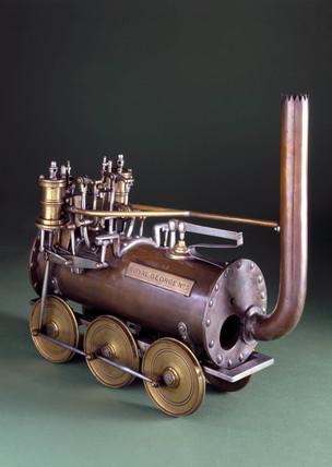 Stockton & Darlington Railway locomotive No 5 'Royal George', 1827.