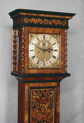 Long case clock, English.