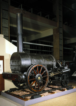 Remains of Stephenson's 'Rocket', 1829.