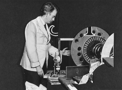 John Logie Baird, 1924.