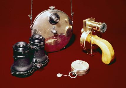 Four 'Detective Cameras', 1889-1908.