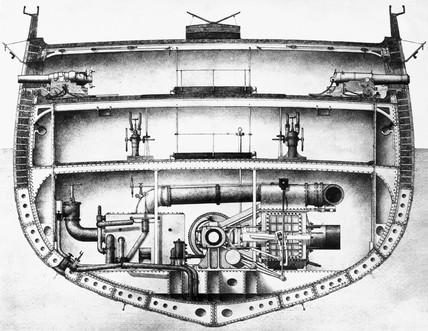 HMS 'Warrior', 1860.