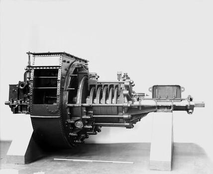 Marine steam turbine from Turbinia, 1894 (Science Museum / Science & Society)