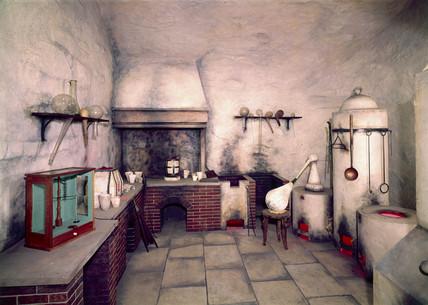 Asayer's laboratory, 1574.